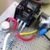 Custom power adapter for camera